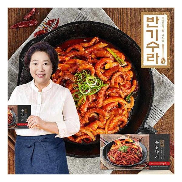 김나운더키친 반기수라 양희경 비법 낙지볶음 6팩+소스6팩 상품이미지