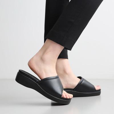Dangolunni Women office platform heel slippers indoor shoes nurse sandals