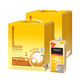 커피믹스/루카스나인 돌체100T+유리머그컵