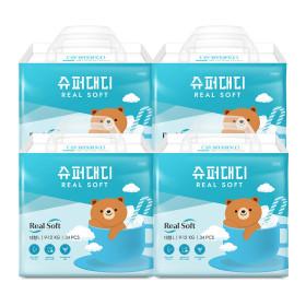 슈퍼대디 기저귀 리얼소프트 팬티 특대 22매X4팩