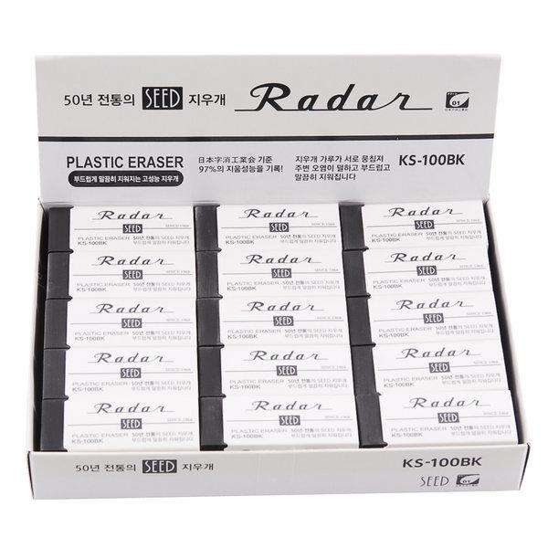 사치하타 SEED지우개 KS-100BK 1갑 학용품 상품이미지