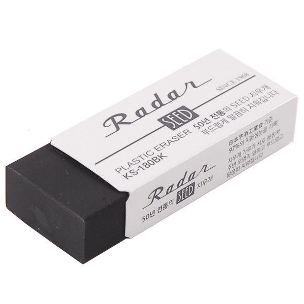 사치하타 SEED 지우개 KS-180BK 낱개 학용품 상품이미지