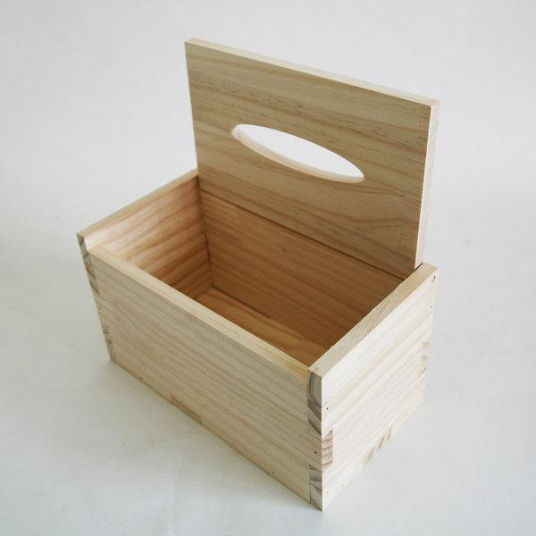 휴지케이스 사각 소나무 곽 티슈케이스 만들기반제품 상품이미지
