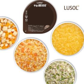 루솔 프리미엄 이유식 아기밥 골고루 10팩 무료배송