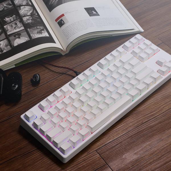 닌자87G5 RGB 게이트론축 퀵스왑 기계식키보드 상품이미지