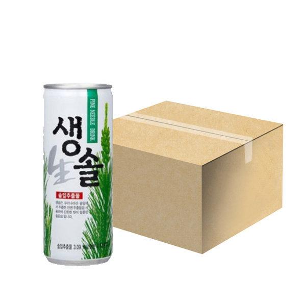 생솔240ml x 30캔 1박스 솔잎음료 상품이미지