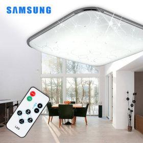 LED방등/조명/등기구 버블사각 방등 50W삼성칩+리모컨