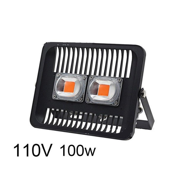100W LED IP66 방수 식물 성장등 블랙 상품이미지