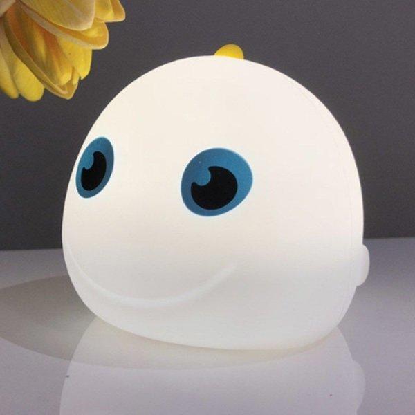 컬러풀 마린피쉬 LED 터치 센서 체인지 램프 화이트 상품이미지