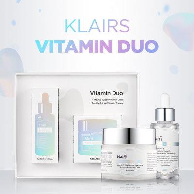 Klairs/ Vitamin Duo Gift Set+Free 3 toner