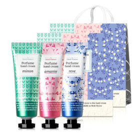 Perfume stories hand cream 3-item Lunar new year`s gift set 1+1/5+1/shopping bag