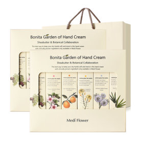 Bonita Garden of Hand Cream 6-item Lunar new year`s gift set 1+1/5+1/shopping bag