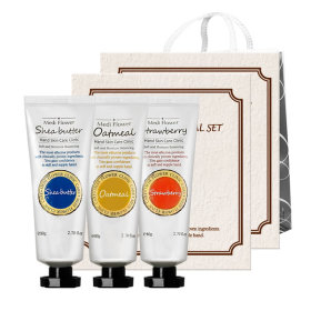 Special hand cream 3-item set Lunar new year`s gift set 1+1/5+1/shopping bag
