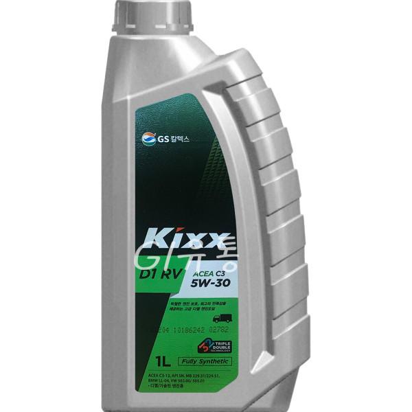 킥스 Kixx D1 RV 5W-30 1L 고부하 디젤 엔진오일 상품이미지
