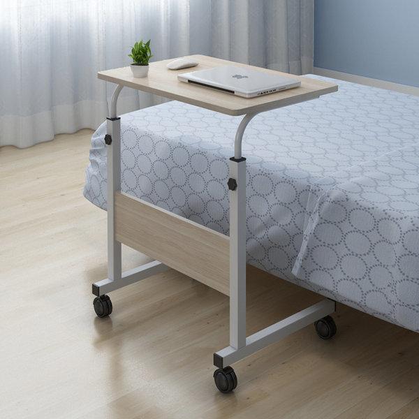 OMT 원목 이동식 높이조절 좌식 책상 테이블 ONA-604 상품이미지