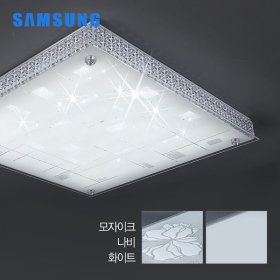 LED방등/조명/등기구 유리 다이아 방등60W 삼성칩