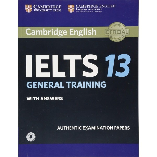Cambridge IELTS 13 General Training Student s Book with Answers with Audio (오디오포함) 상품이미지