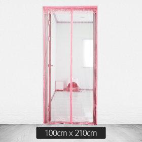 Door/Mosquito Tent/Pink/100cmx210cm