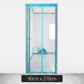 Door/Mosquito Tent/Blue/100cmx210cm