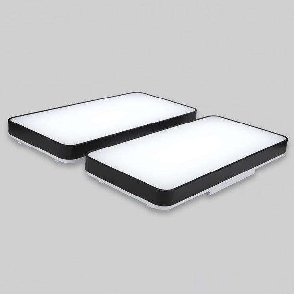 LED거실등 시스템블랙 롱샤인 100W삼성칩 상품이미지