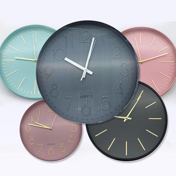 무소음벽시계 디자인 모던벽걸이시계 인테리어벽시계 상품이미지
