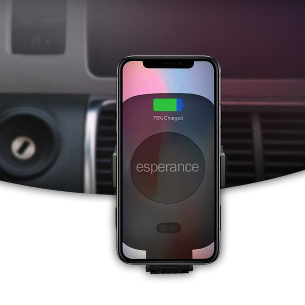 에스페란스 차량용 핸드폰 고속 무선 충전기 거치대 상품이미지