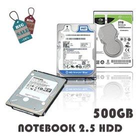 노트북 하드디스크 500GB 중고 HDD 2.5인치 하드