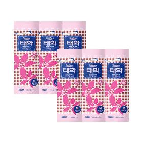 라텍스국산/ 태화 고무장갑 (핑크 M 짧은중 x 10P)