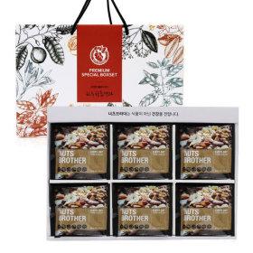 브라질넛 한줌견과 60봉 선물세트 /설/명절/선물