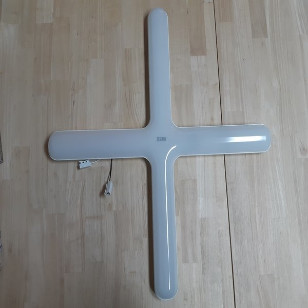 금호 번개표 ELBA LED 십자등 트윈십자등 60W 주광색 상품이미지