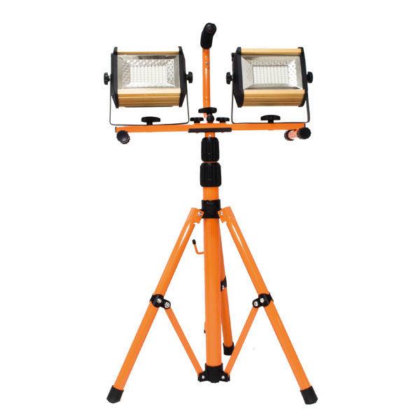 RAK LED 삼각대 충전식 투광기 2구 (100W+100W) 상품이미지