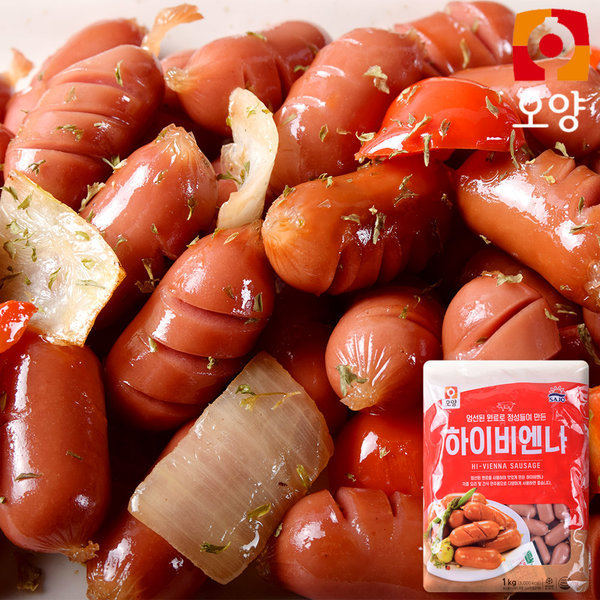 하이비엔나 소시지 1kg 맛있는 특가 상품이미지