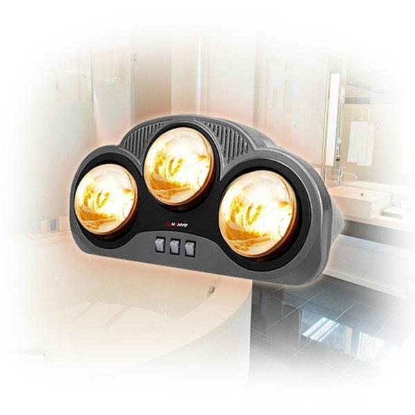 핫돌이 3구 HV-4892 욕실용 램프형 히터 방수 난로 상품이미지