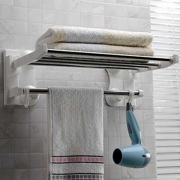 욕실용 수건선반 욕실선반 다용도걸이 코너선반 욕실 상품이미지