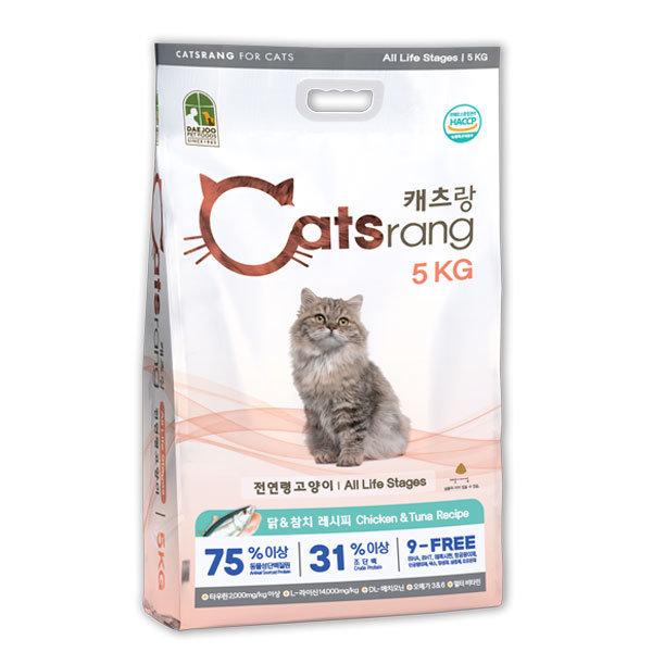 캐츠랑 전연령 5kg 캣츠랑 고양이사료 복수할인 상품이미지