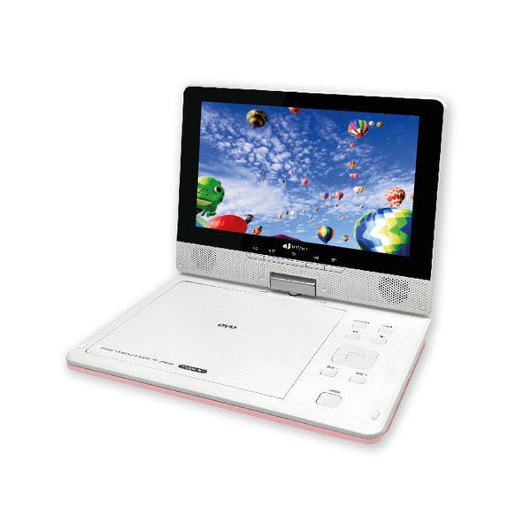 인비오 PD-2000HD 핑크 휴대용DVD플레이어 상품이미지
