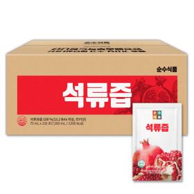 석류즙 100포 실속형 석류원액 석류과즙