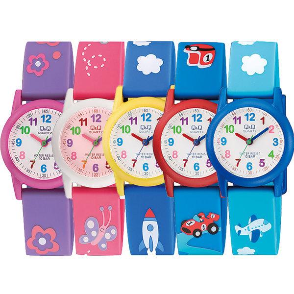 아동 어린이 방수 패션 손목 시계 VR41J VR99J 상품이미지