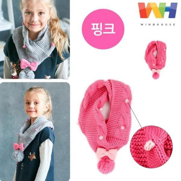 윙하우스 라라 삼각 넥워머 (핑크) 상품이미지