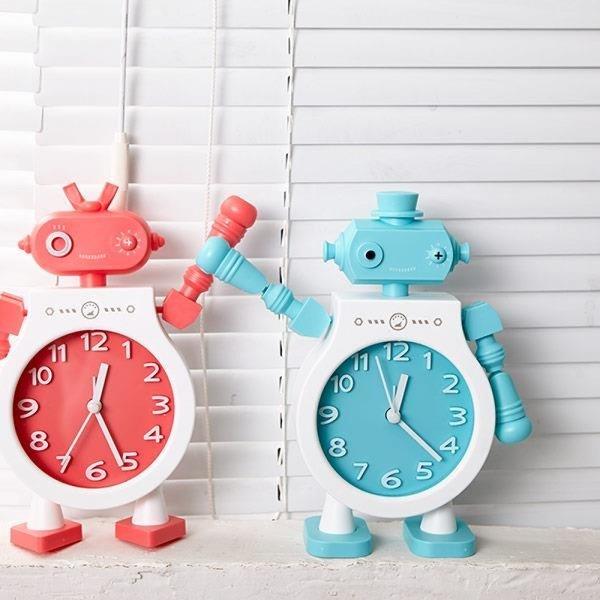 탁상시계 알람시계 아날로그 시계 로보트 태영 상품이미지