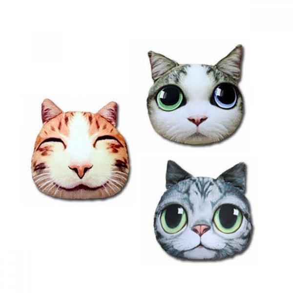 고양이 디자인 쿠션 기본사이즈 15종 택1 상품이미지