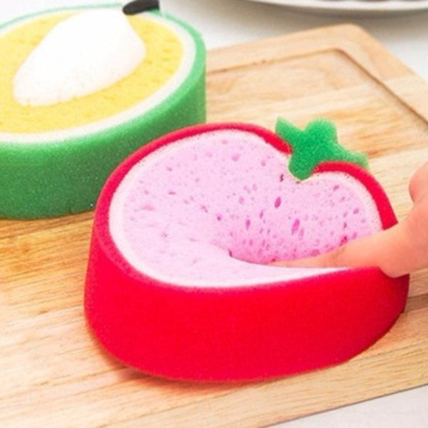ABM(C) 과일스폰지 수세미 딸기 상품이미지