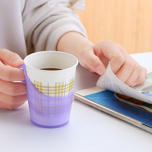 종이컵 받침대 홀더-컵홀더 컵꽂이 사무용품 상품이미지