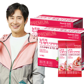 아이스크림맛 다이어트쉐이크 스트로베리14포+쉐이크컵