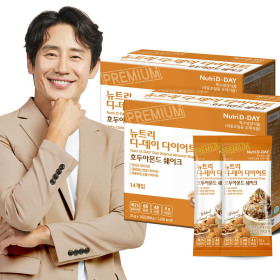 Ice Cream Flavored Diet Shake Walnut Almond 28 Packs