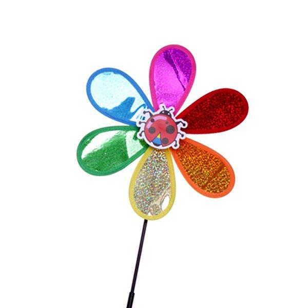 (파티공구) 바람개비(미니홀로그램) 바람개비 미니 홀로그램 캠핑 곤충 동물 장식 용품 상품이미지