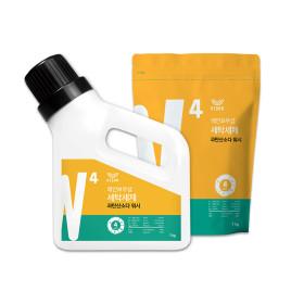 올인원 세탁세제 과탄산소다 워시 리필세트