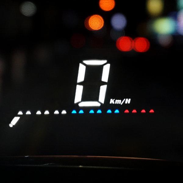 3S-M7 자동차 HUD 헤드업디스플레이 OBD GPS겸용 상품이미지