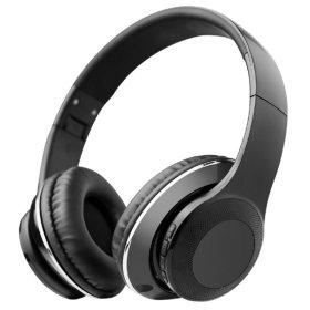 OMT 접이식 블루투스헤드폰 무선헤드셋 OMT-BT120 블랙