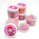 핑크공주밴드 케이스50g 아동 머리끈 휴대용 케이스형